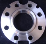 Flange with eyelets